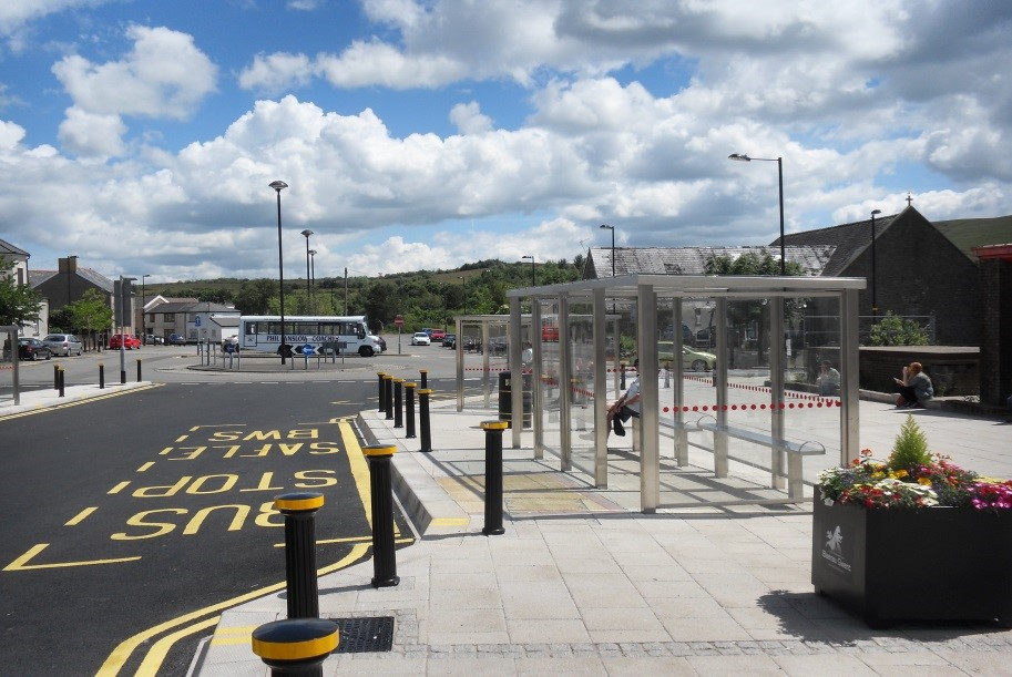 Brynmawr Bus Station Alun Griffiths Contractors Ltd