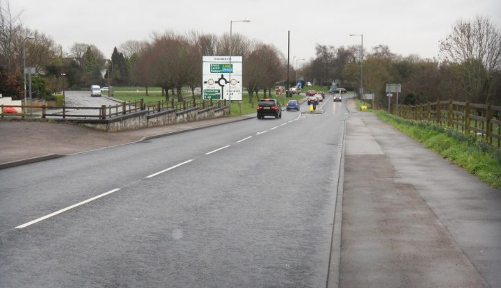 a466 st lawrence road