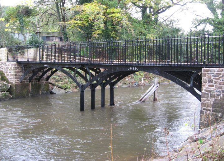 iron bridge lower machen