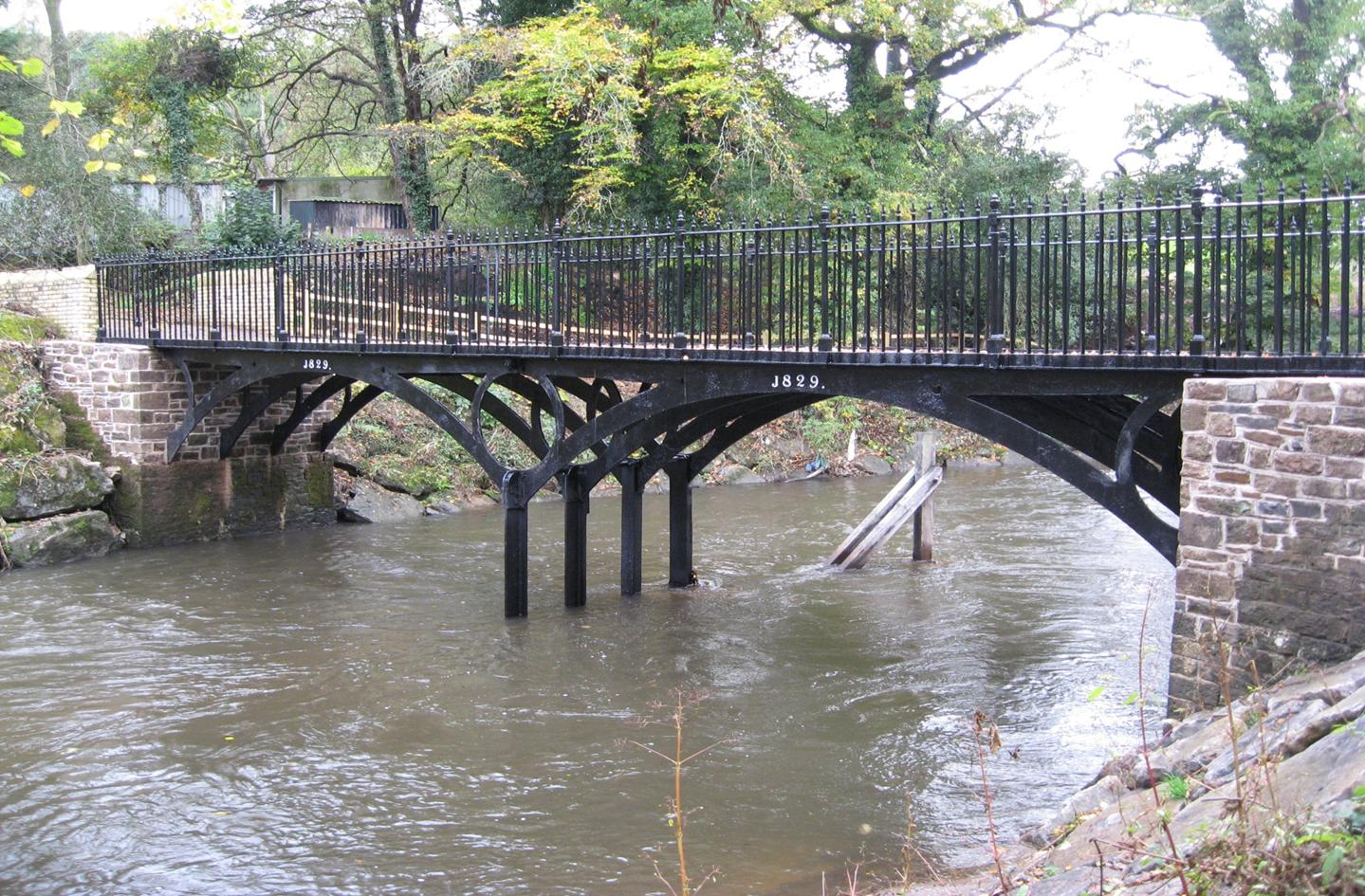 Iron Bridge Lower Machen Alun Griffiths Contractors Ltd