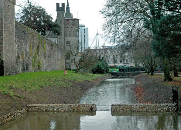 mill leat cardiff castle